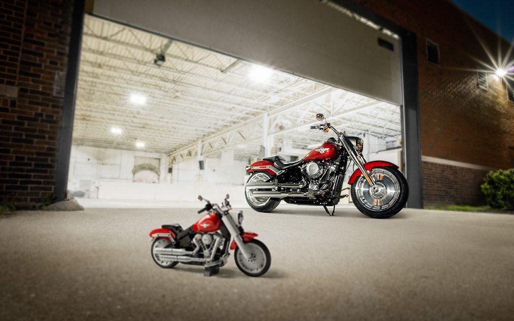 Harley Davidson: LEGO Introduces Harley-Davidson Fat Boy