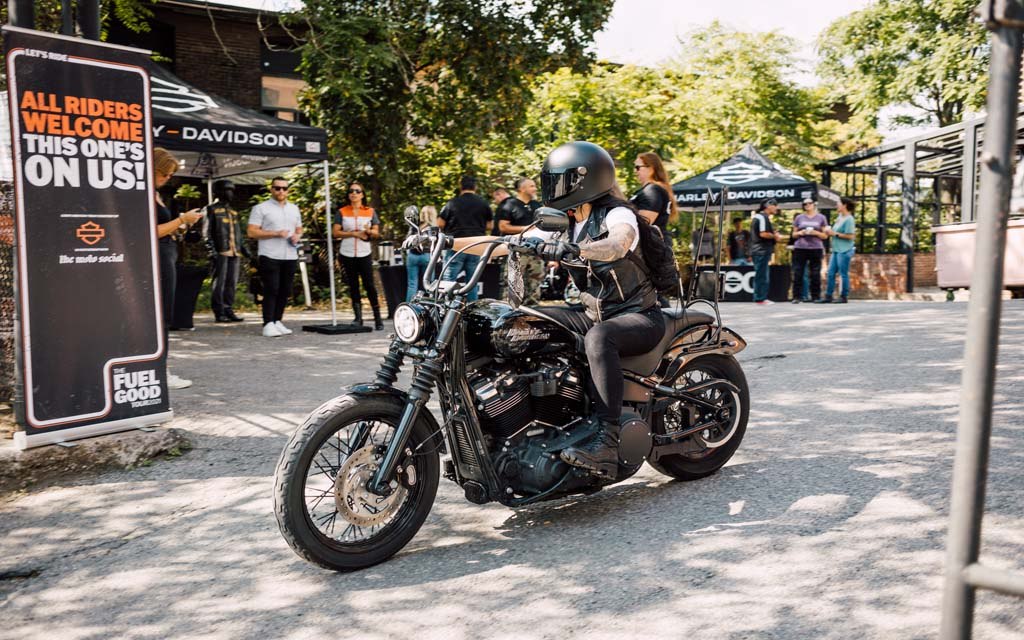Harley-Davidson's Fuel Good Tour rolls across Canada this fall
